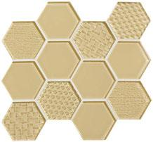 VARIATION & PRICING HEXAGONAL STRUCTURED (9-1/8""