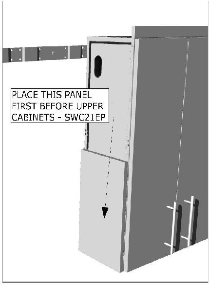 If placing any Spacers, remember to also place the Spacer Rail Supports, these do not attach to the spacer panel themselves, instead they work to create the