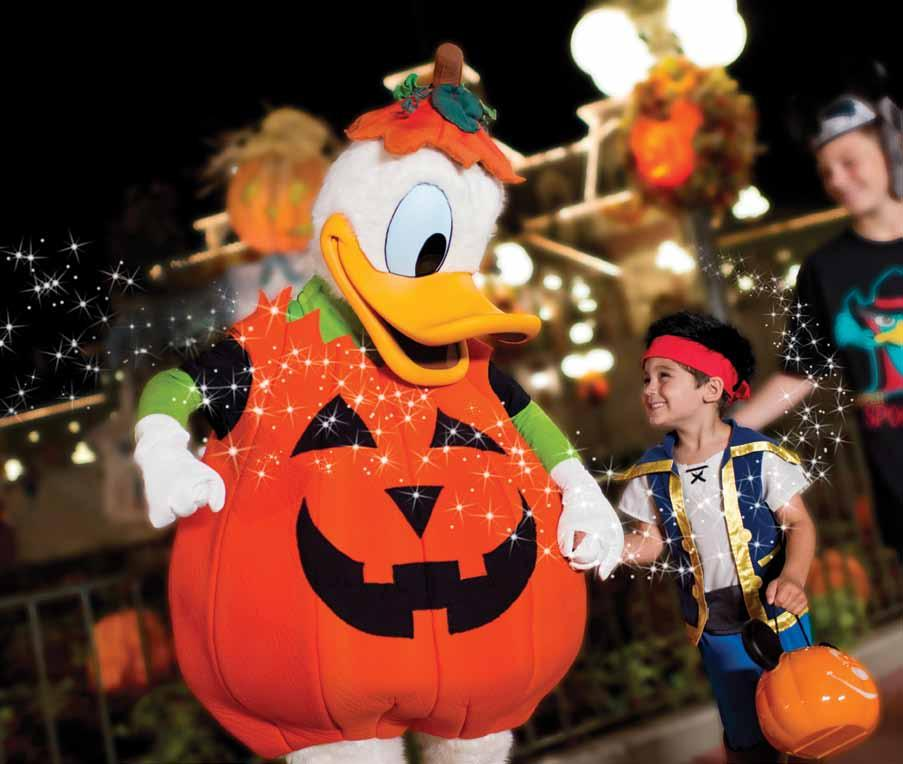Make Spellbinding Memories this Fall Fall 2013 Take off for adventure with Disney Planes Share frightfully delightful times at Disney Theme Parks