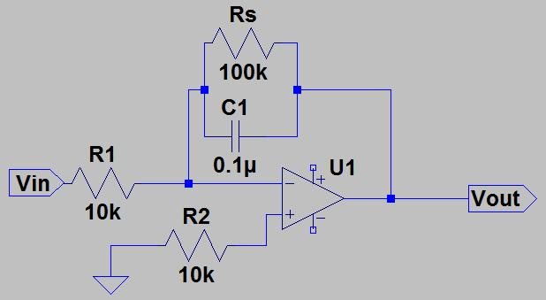 You should be able to see now that the follower isolates the left part of the circuit from the right part. The follower effectively changes a high impedance output to a low impedance output.