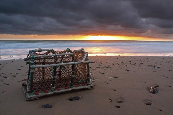 This basket was used to add foreground interest to the sunrise photograph. Balance your exposure correctly Getting the exposure spot on for an s&s shot can be tricky.