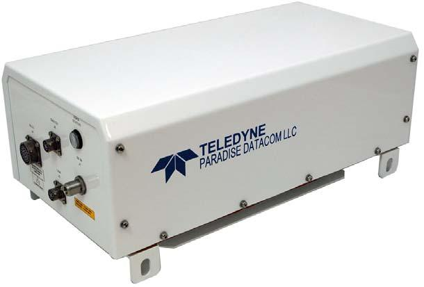 This allows solid state technology to be used in applications that have long been reserved for TWTAs. Weighing 44 lbs.