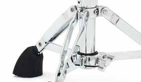 9000 Series Cymbal & snare Stands BRAKE TILTER 360 degree gearless tilter and hub enables quick and easy adjustment. Fitted with drum key lock for extra security.