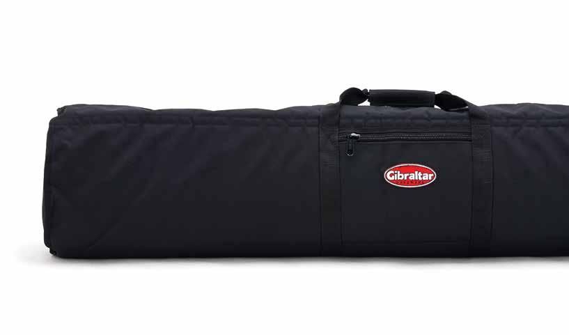 HARDWARE & GIG BAGS HARDWARE BAGS Transport your gear in ABS reinforced Gibraltar hardware bags.