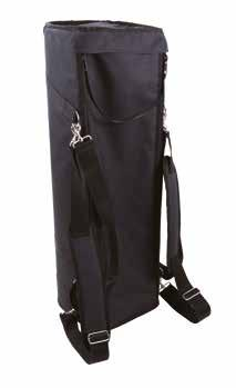 GRB CONVERTIBLE BACKPACK BAG Three-way convertible hardware bag, that can be used as a handle bag, backpack, or shoulder carry bag. Designed to hold light to medium weight hardware.