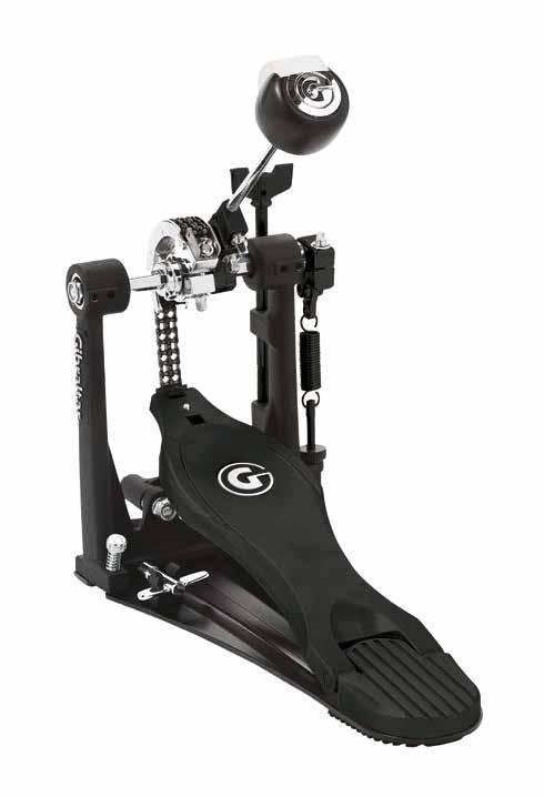 STEALTH BASS DRUM PEDALS DUAL SURFACE G6 BEATER EASY ADJUST HOOP CLAMP CLICK POLE SINGLE / DOUBLE PEDAL The Stealth G Drive bass drum pedal exemplifies the features that today s drummer demands in a