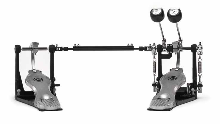 6000 Series BASS DRUM pedals 5000 Series BASS DRUM pedals DIRECT DRIVE System offers a lighter feel for quicker