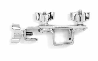 [1 pack] SC-JPM BAR CHIME ARM & CLAMP Cymbal stand clamp and eye bolt tension L-arm.
