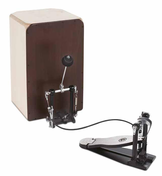 4000 Series BASS DRUM pedals CAJON pedals SINGLE PEDAL A lightweight, sturdy pedal, available with single chain or strap drive and fitted with smooth G-stamped foot board.