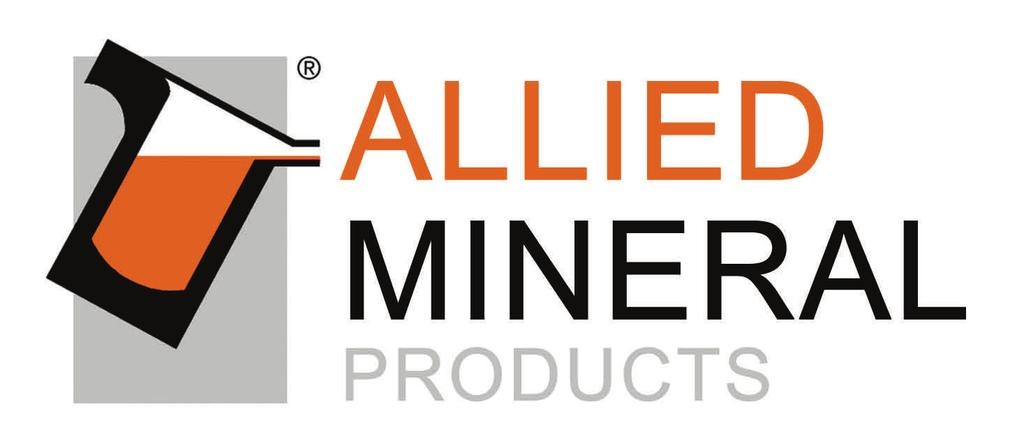 priority for Allied Mineral Products. Allied s focus on quality at every stage of the production process is unparalleled.