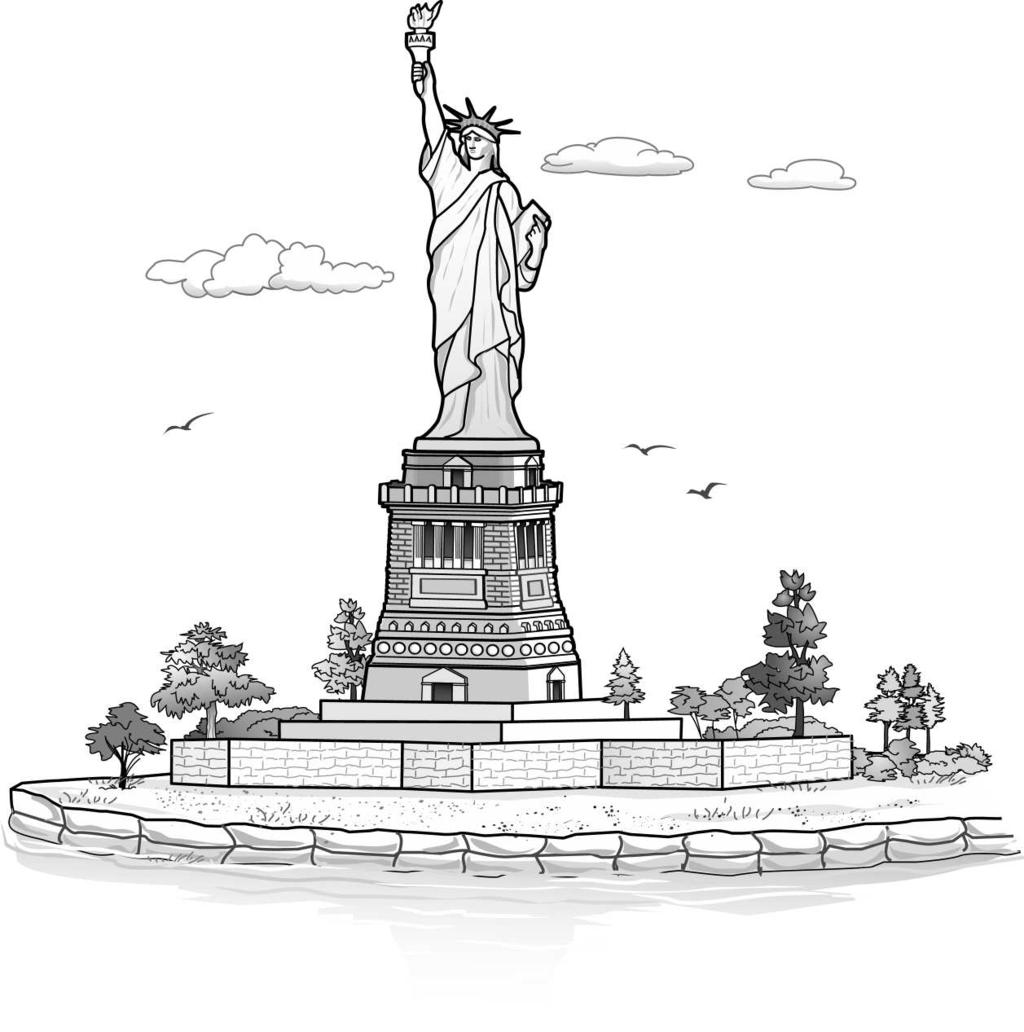 11. Read the writing prompt below and complete the writing activity. Look at the picture of the statue below. Write an essay that describes the statue. Use describing words in your essay.