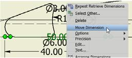 5). You can also move a dimension between views by using the Move Dimension command.