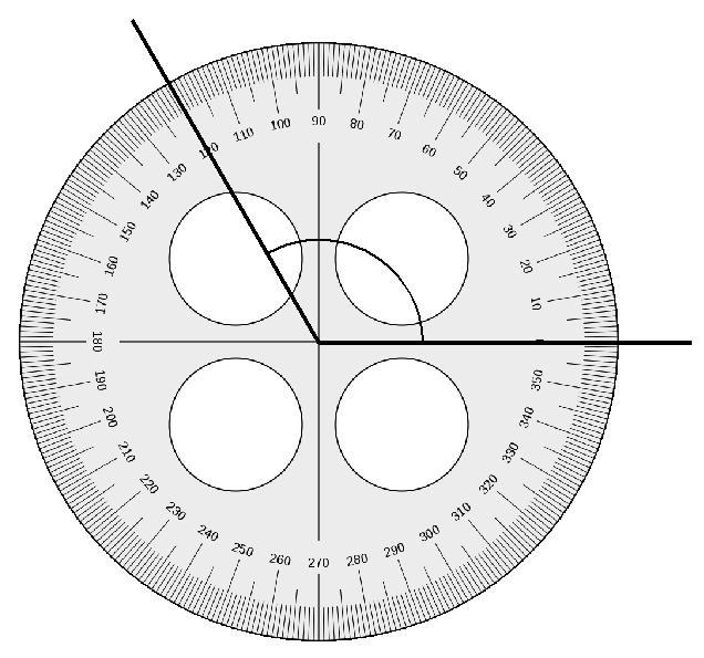 Lesson 5: Use a circular protractor to