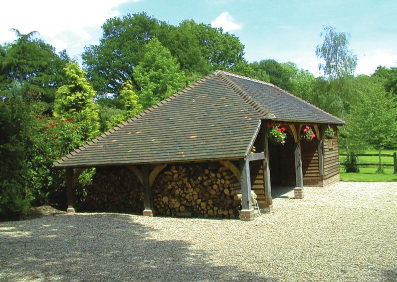 OAK FRAMED BUILDINGS We offer a complete building service from planning and complete restoration
