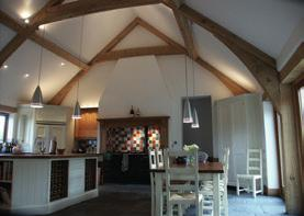 BEAMS We supply beautiful antique reclaimed oak beams, kiln dried or green oak beams.