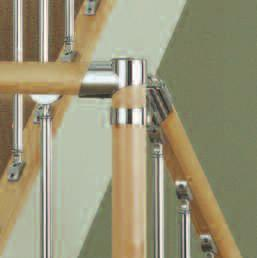 Cherry, Maple Balusters - Chrome Plated & Brushed Nickel s -
