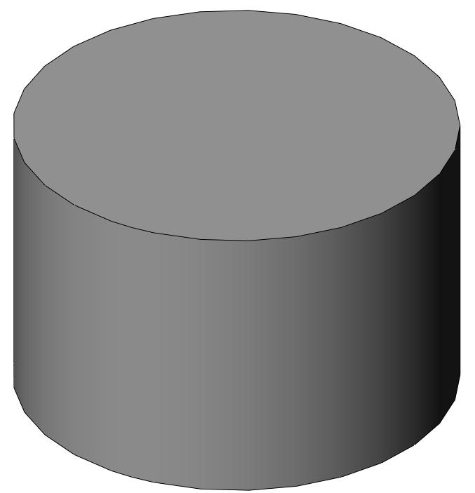SolidWorks: Base Feature There are a couple ways to effectively model this piston head