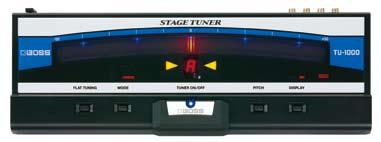 Built for the stage, the TU-1000 provides accurate tuning with unparalleled brightness and ultra-smooth meter motion.
