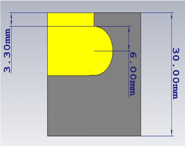 Figure 4: Antenna 3 Design.