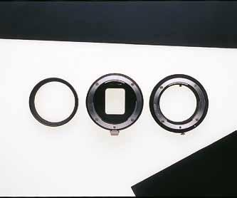 Extension rings and tubes A standard method of increasing magnification is to increase the distance between the lens and the sensor, and the simplest way of doing this with an SLR is to fit a ring or