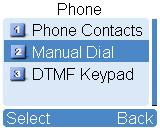 Please refer to Phone Call Configuration. DTMF Keypad Programmable Keys (Optional) Path: Conventional -> General Setting -> Buttons. See Figure 4-9.