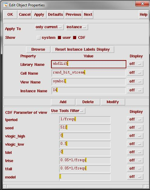 14 How to use PRBS generator in Cadence PRBS generator can be