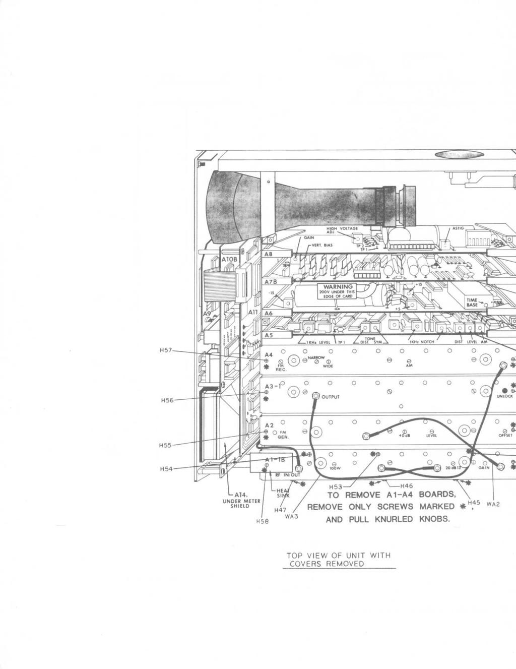 Ct Systems Inc Instruction Manual Model 3000b Communications Se Fuse Panelcar Wiring Diagram Page 408 H53 J H46 To Remove Al A4 Boards