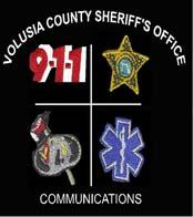 VOLUSIA COUNTY SHERIFF S OFFICE FIRE/EMS COMMUNICATIONS CENTER COMMUNICATIONS POLICIES AND PROCEDURES POLICY# C-01.