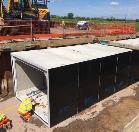 Box CulvertS Typical Culvert Units are available in internal span sizes from 1000mm to 6000mm and internal heights from 500mm to 3600mm, with unit lengths to a maximum of 2000mm, dependent on final