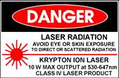 Laser safety (): laser classes and hazards Lasers are grouped according to the degree of hazard Classes 1, and 3a are safe for viewing because of limited power and irradiance Classes 3b and 4 require