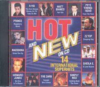 Hot And New '86 (CD Sampler) Hot And New '86 Format: CD Compilation Erscheinungsjahr: 1986 Label: WEA Records Cat.-No.: 240 894-2 (Album CD Hülle) TRACKS: The Sun always shines... (5:05 Min.