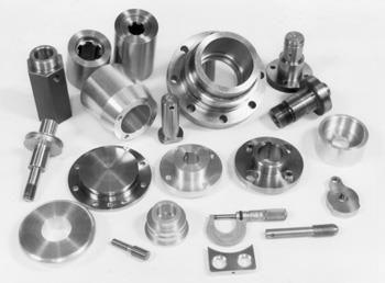 1.1 General Introduction and Definitions Machining is a class of material-working processes that involves using a powerdriven machine tool to shape metal. The parts shown in Fig.1.1 are made by machining processes.