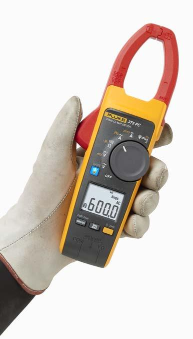 motor connected to a VFD only responds to the average value of the signal, and to measure that power the input bandwidth of the clamp meter must be narrower than its DMM counterpart.