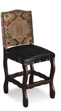 H8111-018-S Jackson Hole PU Seat Side Chair