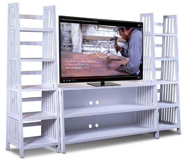 VARSITY WALL UNIT Available in BLACK, GRAY WHITE H2020-062-WHT Varsity 62