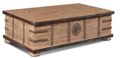 Mandalay Trunk with Casters 52 x 27