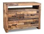 H4980-310 Boardwalk 6 Dwr Dresser 60 x 17 x 36 H4980-340 Boardwalk Media Chest 48 1/4 x 17 1/4 x 38 1/4