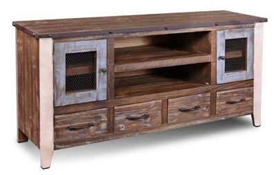 URBAN LOFT ENTERTAINMENT H2975-055 Urban Loft 55 TV Stand 55 x 18 x 32 H2975-065