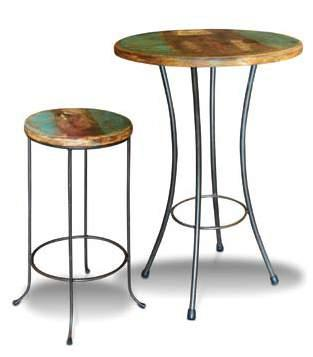 Iron Base Barstool