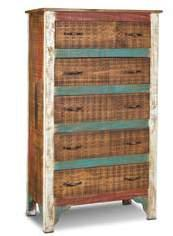 BOMBAY BEDROOM H4090-340 Bombay 4 Drawer 44 TV Chest 44 x 17 1/2 x 36