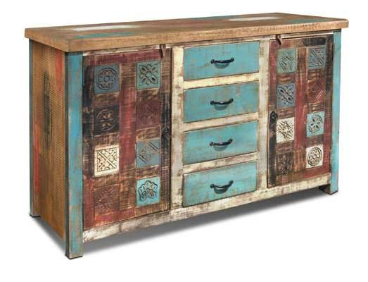 H3250-038 DROPPED Bombay Carved 38 Cabinet 38 x 15 x