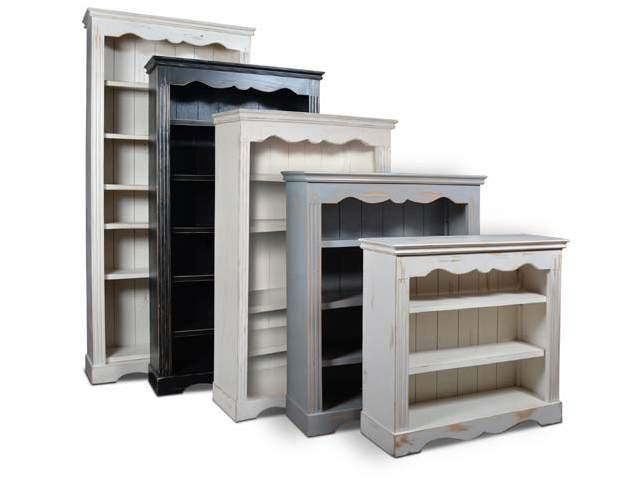 WHT 84 LAROUSSE BOOKCASES Available in Black, GRAY, white tur 72 red 60 GRY 48 blk 36 H3015-036 Larousse 36 Bookcase 40 x 13 x 36