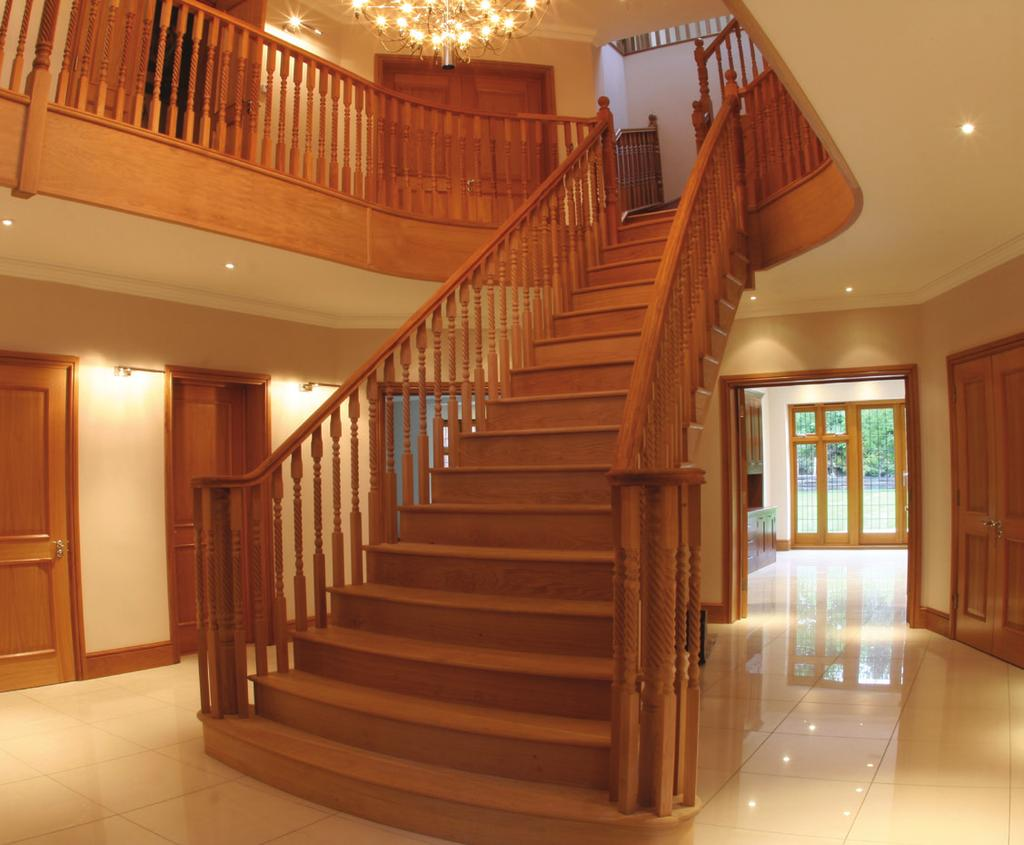 Our staircases are designed, handcrafted and fitted by some of the country s finest craftsmen.
