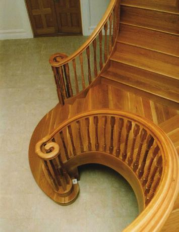 and bespoke timber staircases shines through in our