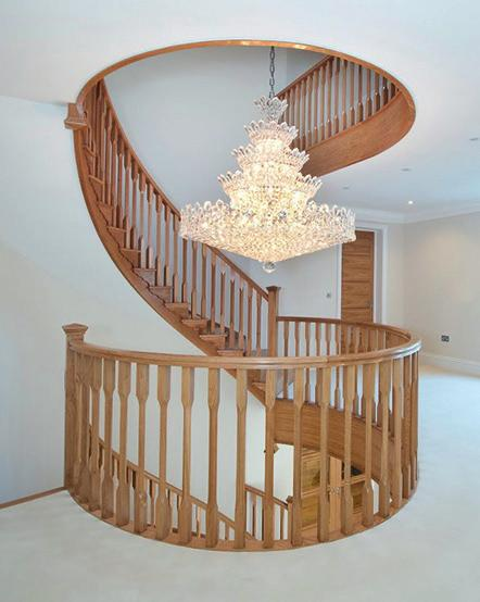 To perfect your dream staircase, we also manufacture a