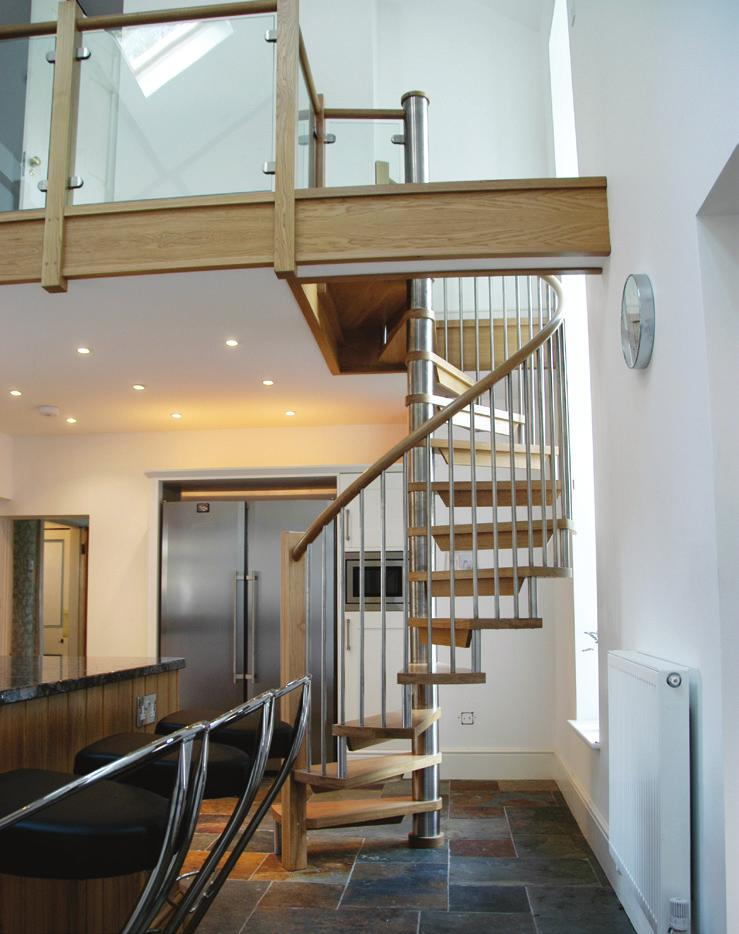Contemporary staircases Harmonise the character of your home Custom built contemporary staircase designs allow us to demonstrate our