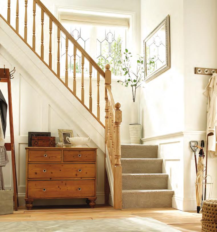 The Trademark range by Richard Burbidge is a highly flexible collection of high quality and affordable stair parts.