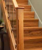 White Oak rails and posts.