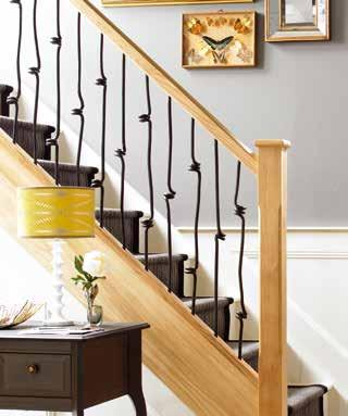 Install with our Stop Chamfer or Classic turned newels to create a look that will suit your home, whatever the style.