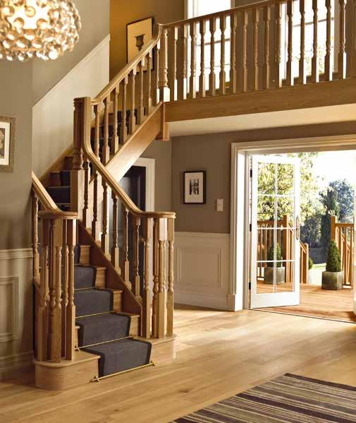 creating a unique & timeless feature staircase is